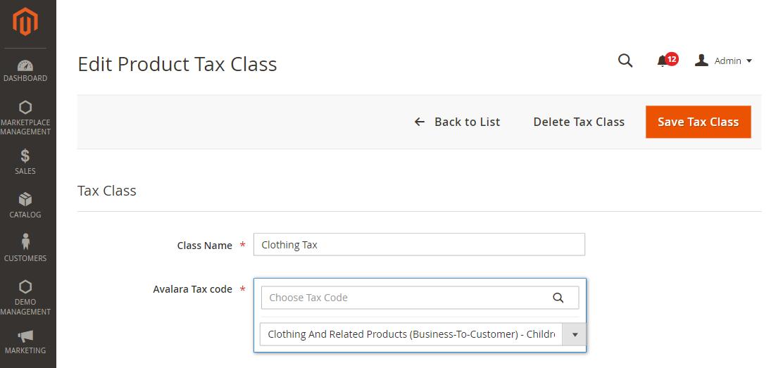 Webkul-Magento2-Marketplace-Avalara-Tax-Admin-Edit-Tax-class-0b5