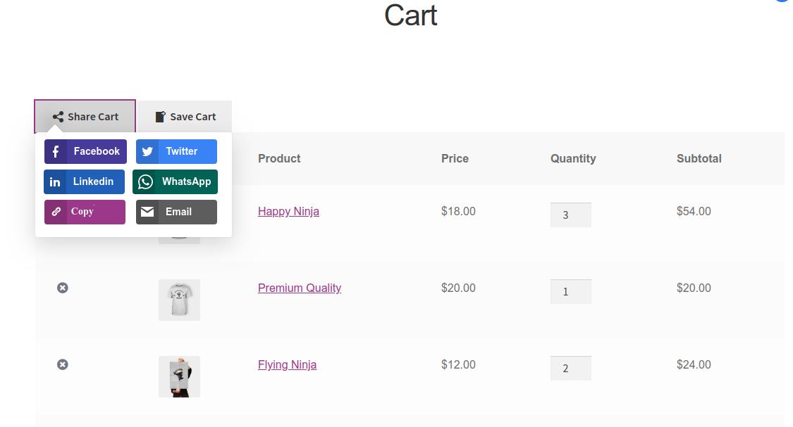 customer_share_cart