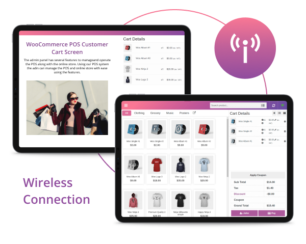 WooCommerce POS Customer Cart Screen - 8