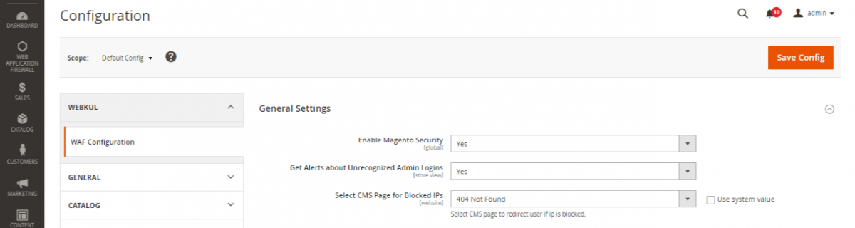 Configuration-Settings-Stores-Magento-Admin-Web-Security