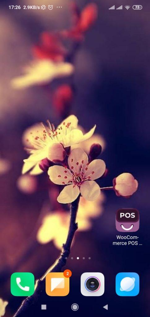 home-screen-POS-PWA-mobile-app