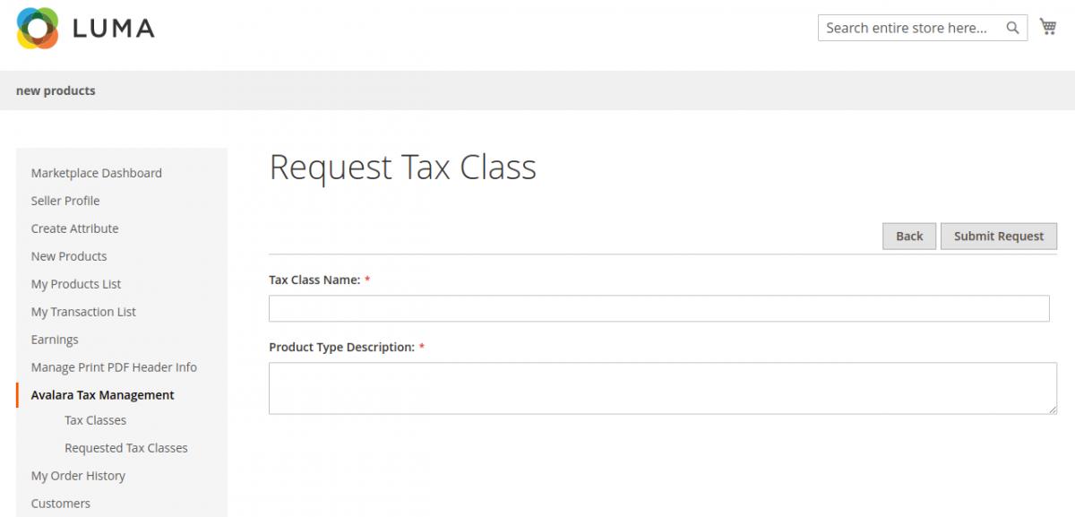 webkul-magento2-avalara-seller-request-new-tax-5