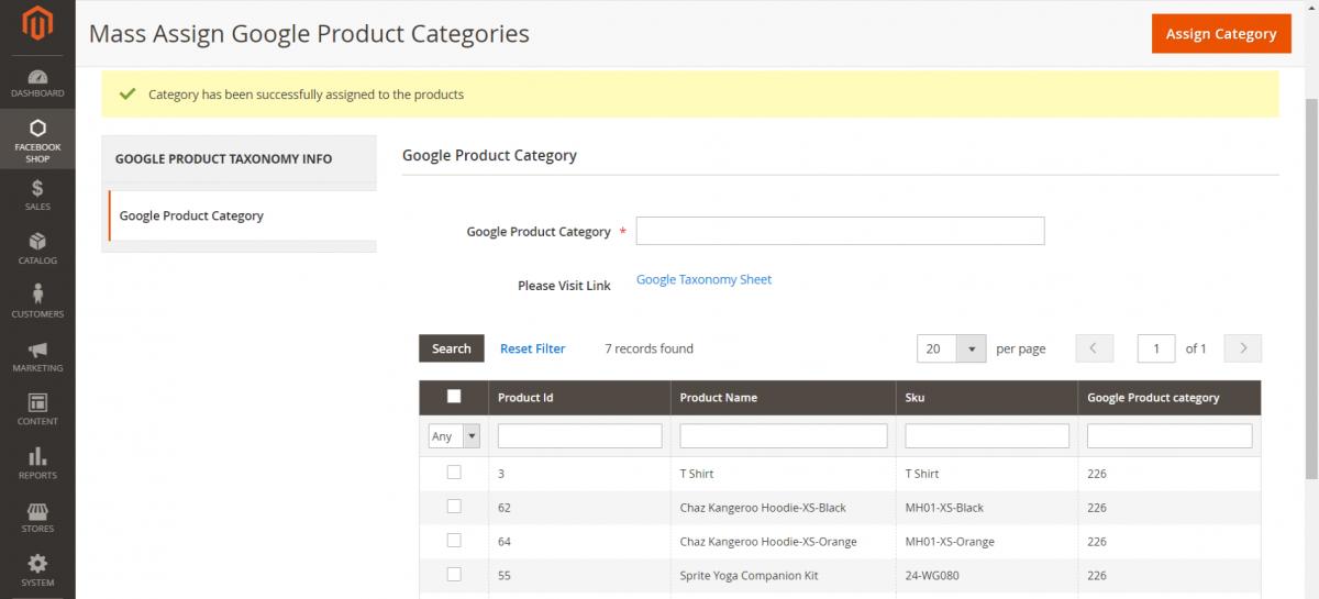 Categories-Instagram-Shop-Magento-Admin