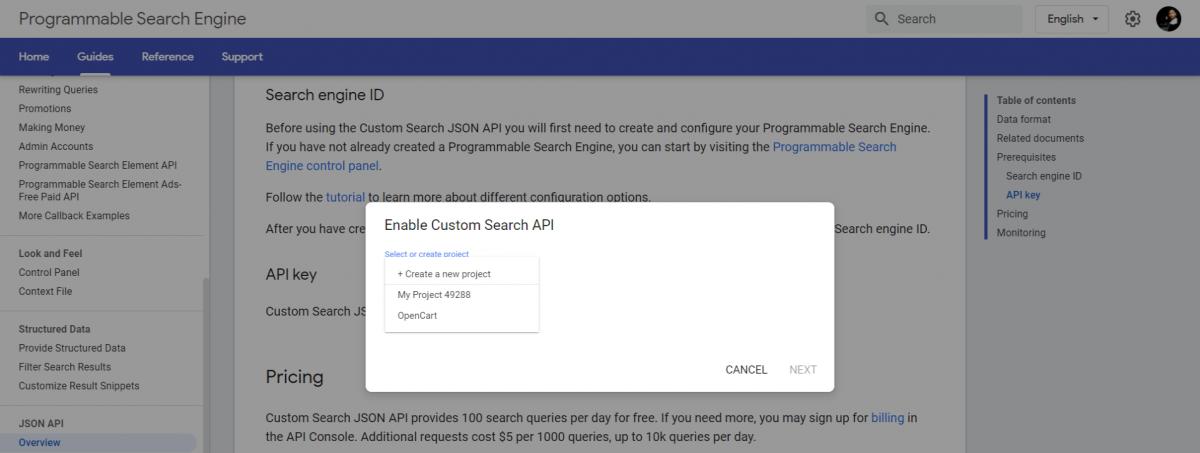 Custom-Search-JSON-API-Programmable-Google-custom-search