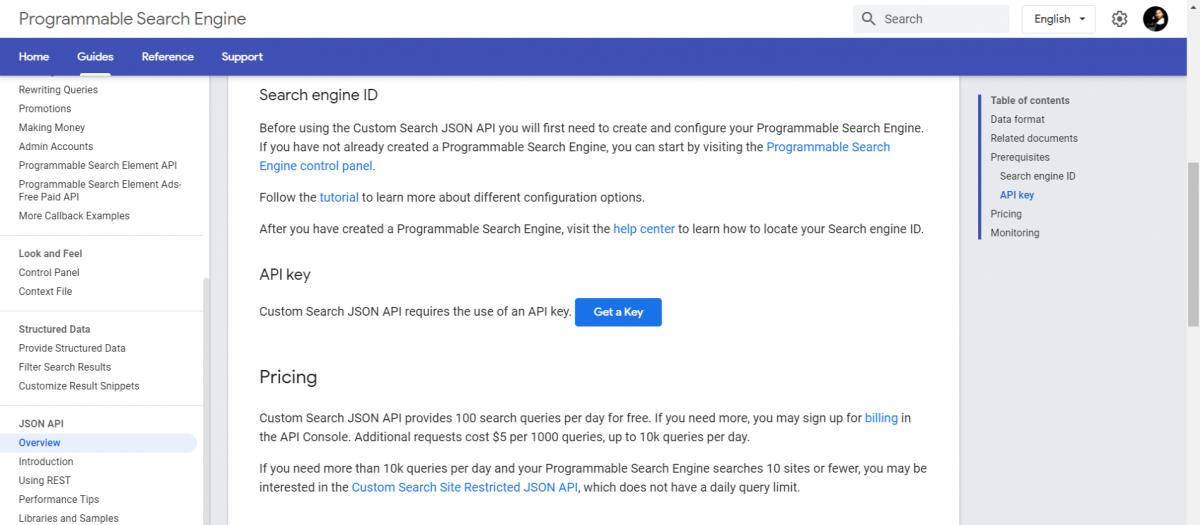 Custom-Search-JSON-API-Programmable-Search-Engine-Google Custom Search