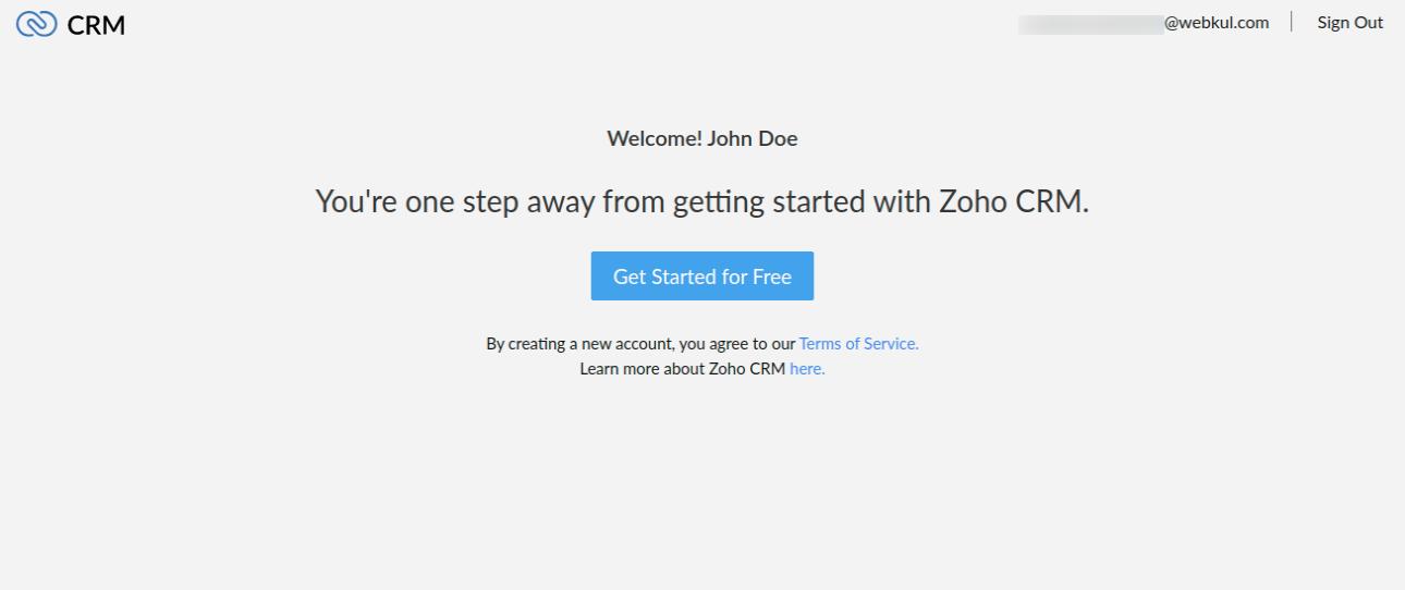 Zoho-CRM-page