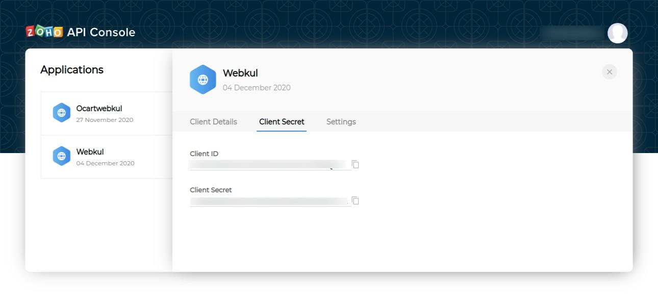 client-secret-keys