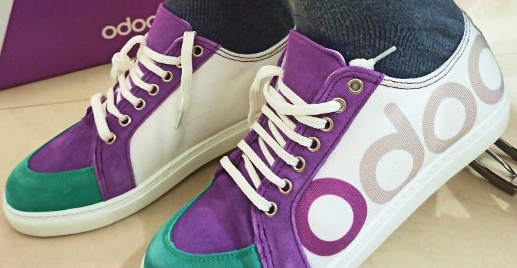 Odoo Shoes: walk Odoo!