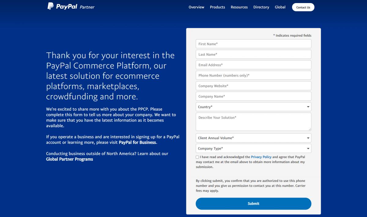 Contact-Us-PayPal-Partner-Program-North-America
