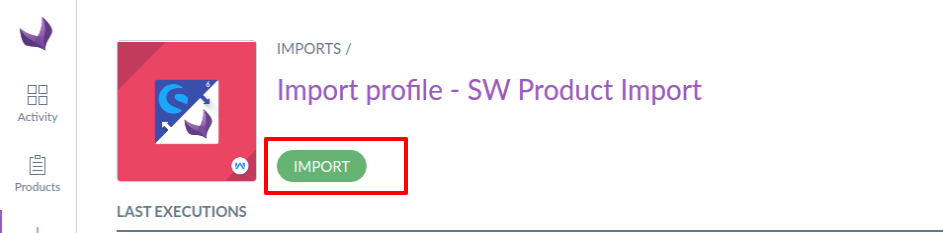 Import-profile-SW-Product-Import-Show