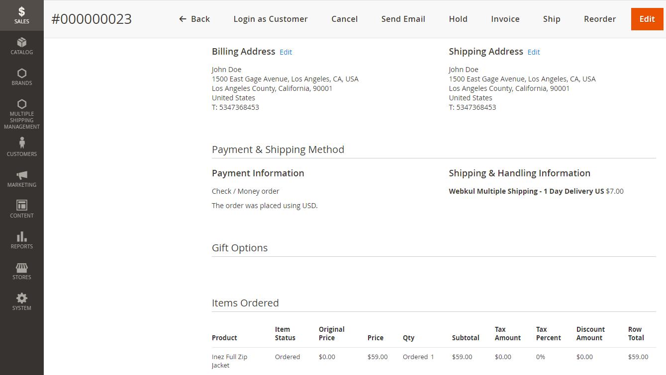 Webkul-Multi-shipping-methods-order-shipment