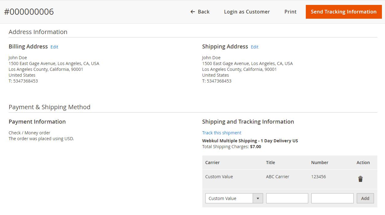 Webkul-Multi-shipping-methods-shipment