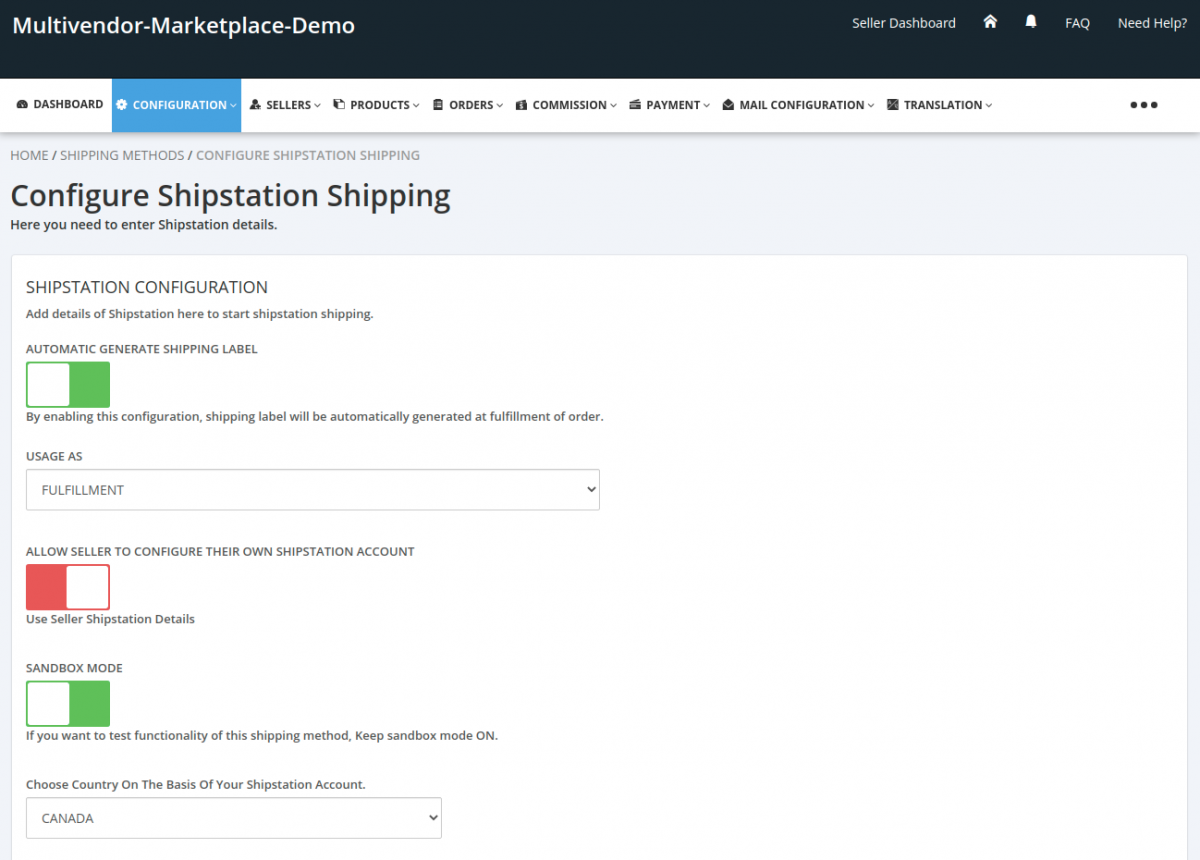 Shipstation-Configuration-Admin