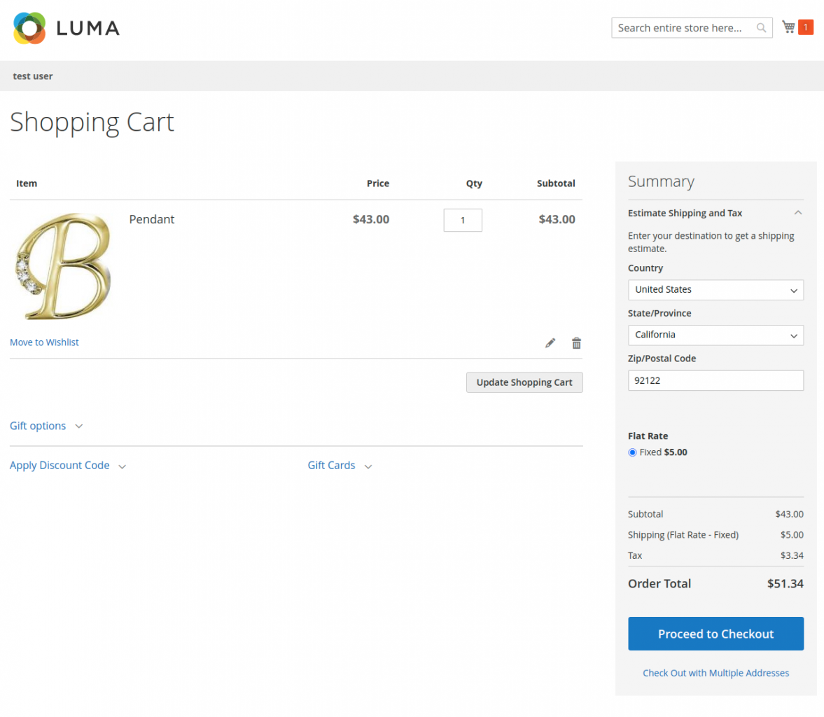 Shopping-Cart-tax-applied