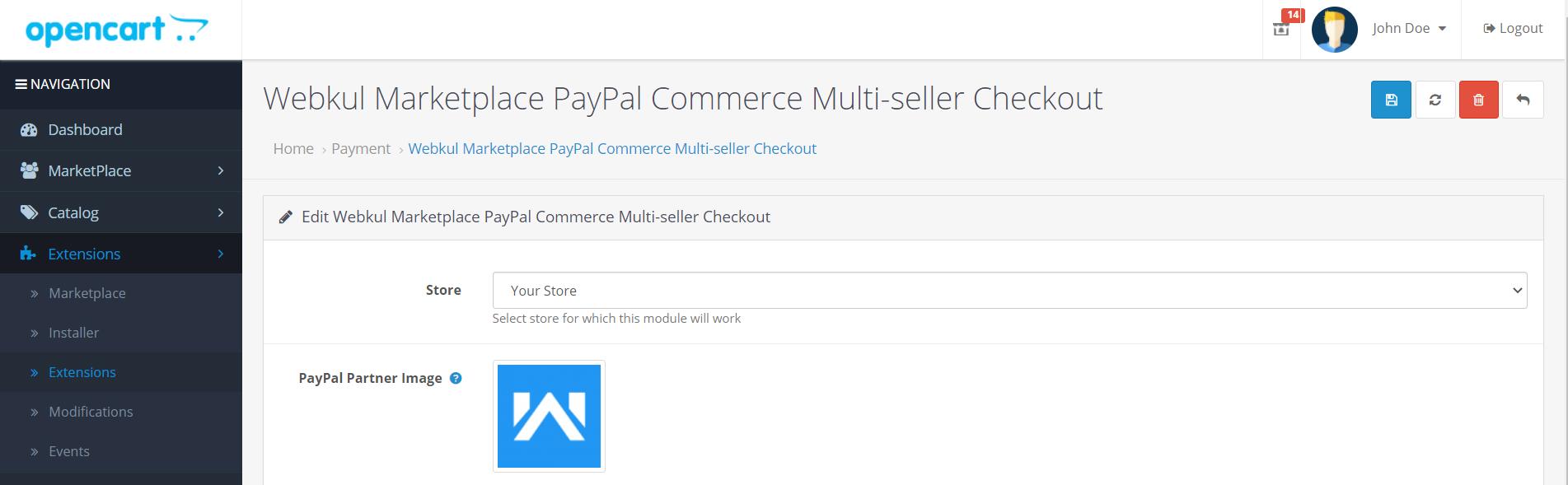 Webkul-Marketplace-PayPal-Commerce-Multi-seller