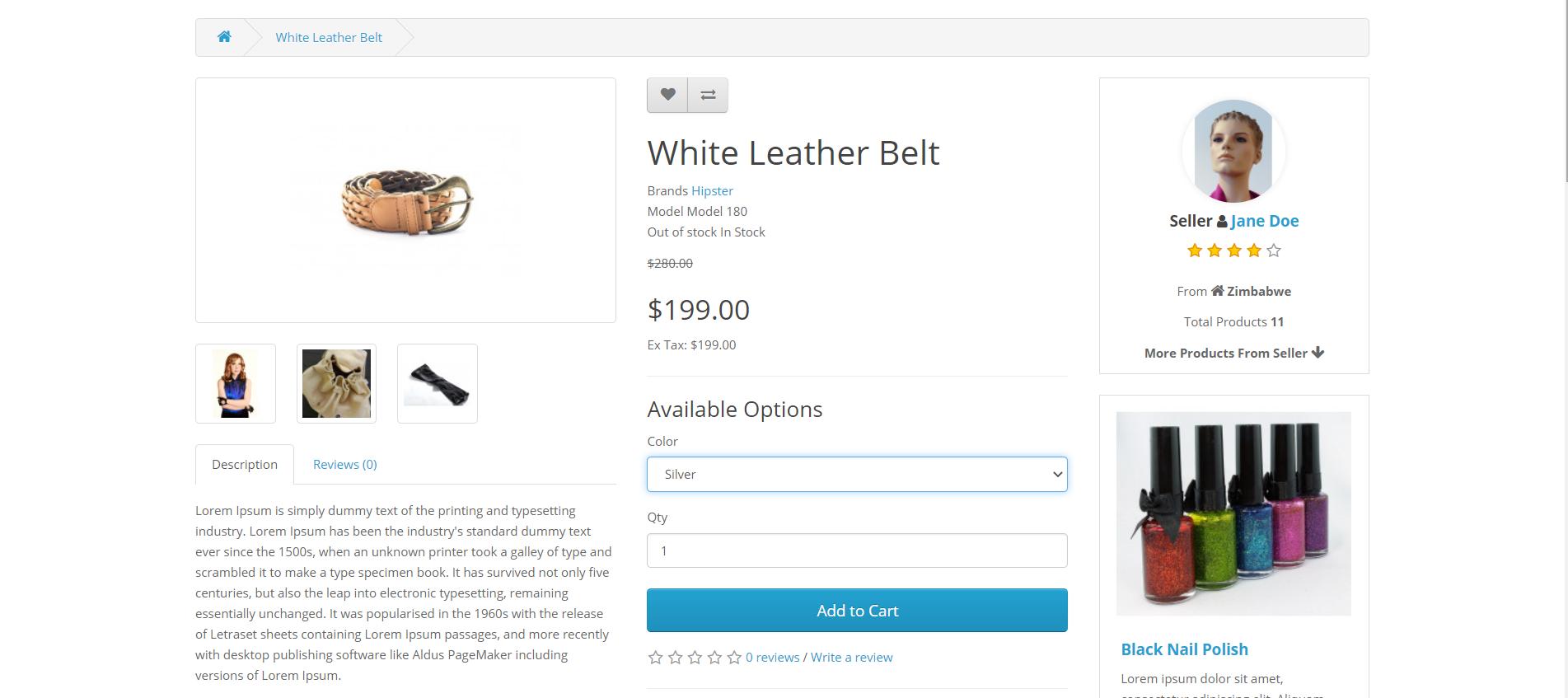 https-oc-webkul-com-paypal-commerce-product-White-Leather-Belt-html