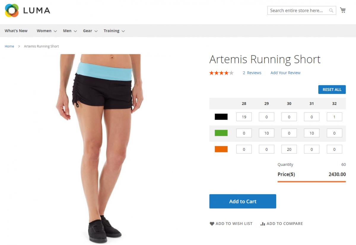 Artemis-Running-Short