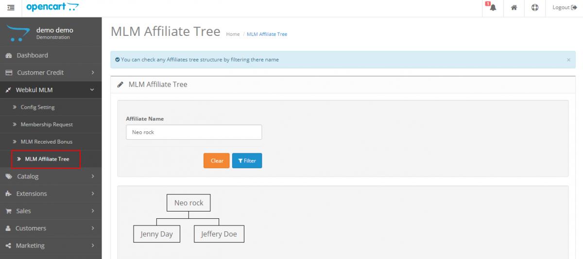 MLM-Affiliate-Tree