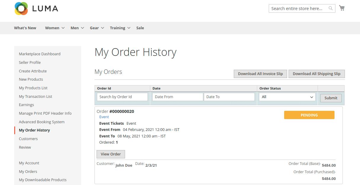 Marketplace-Seller-Orders-Reservation-Booking-QR-Code