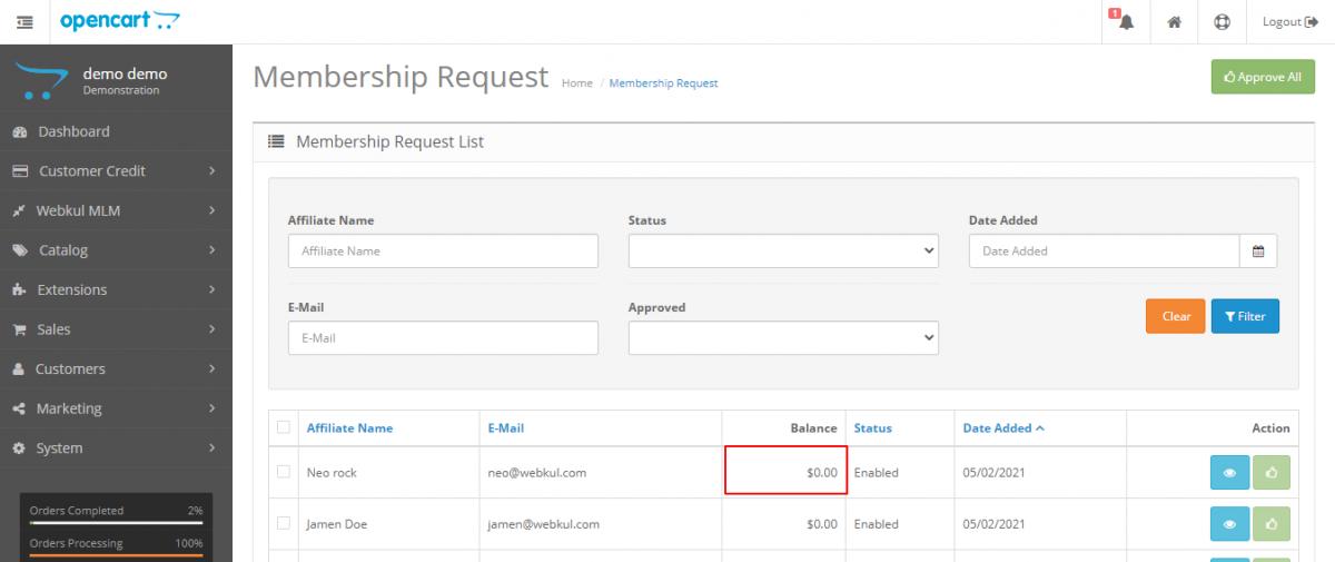 Membership-Request