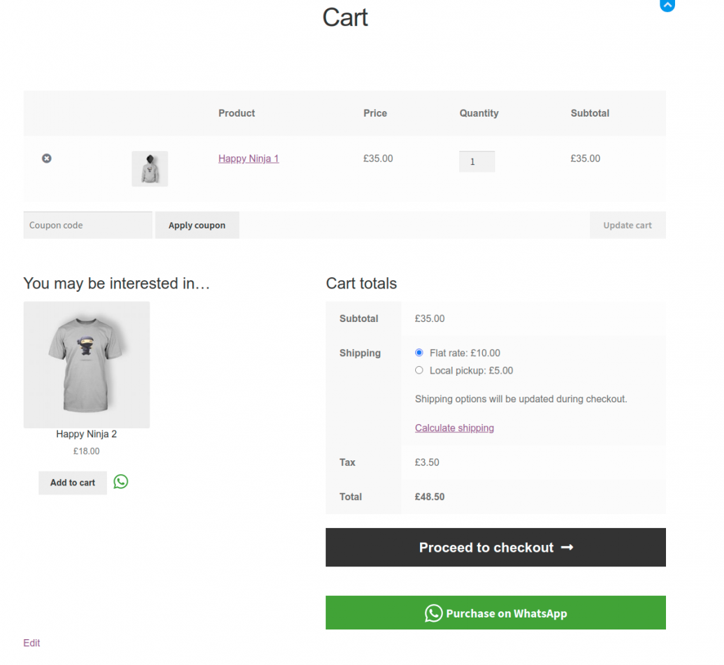 Cart-page