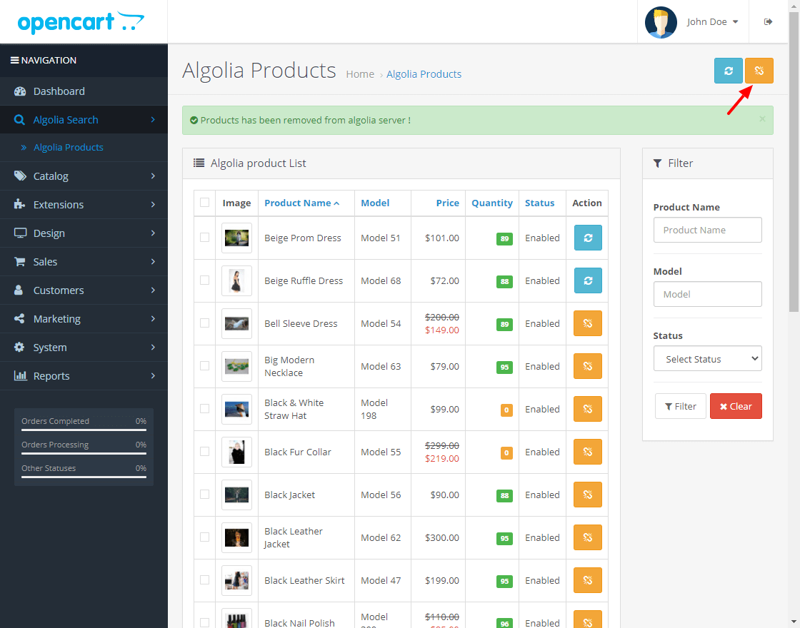 webkul-opencart-algolia-search-extension-algolia-products-4-1