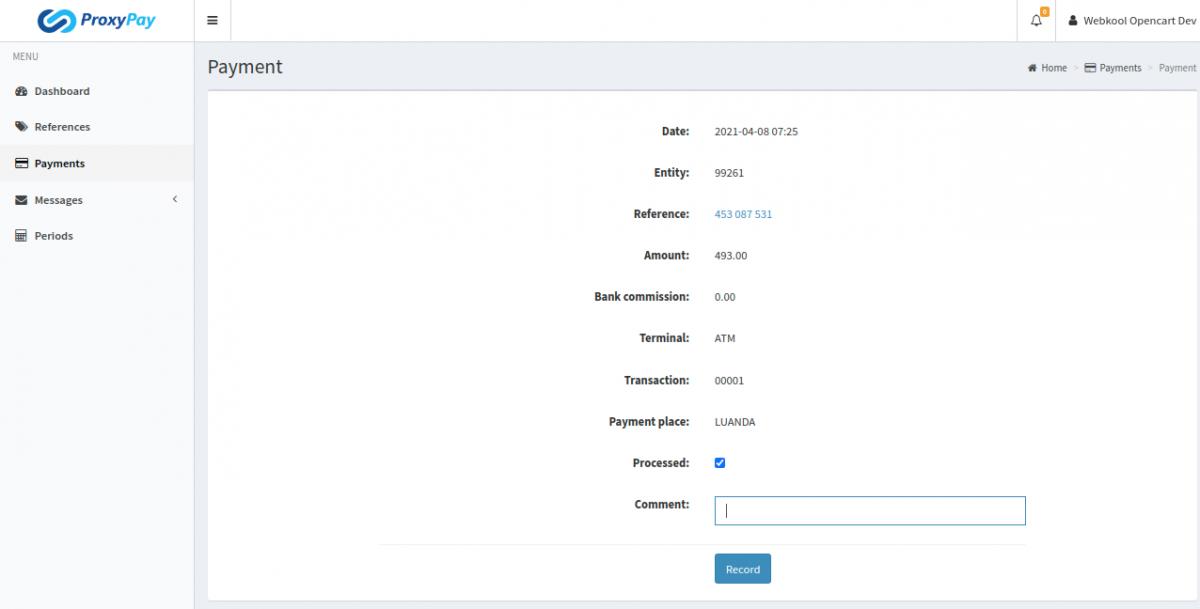 ProxyPay-Payment-details