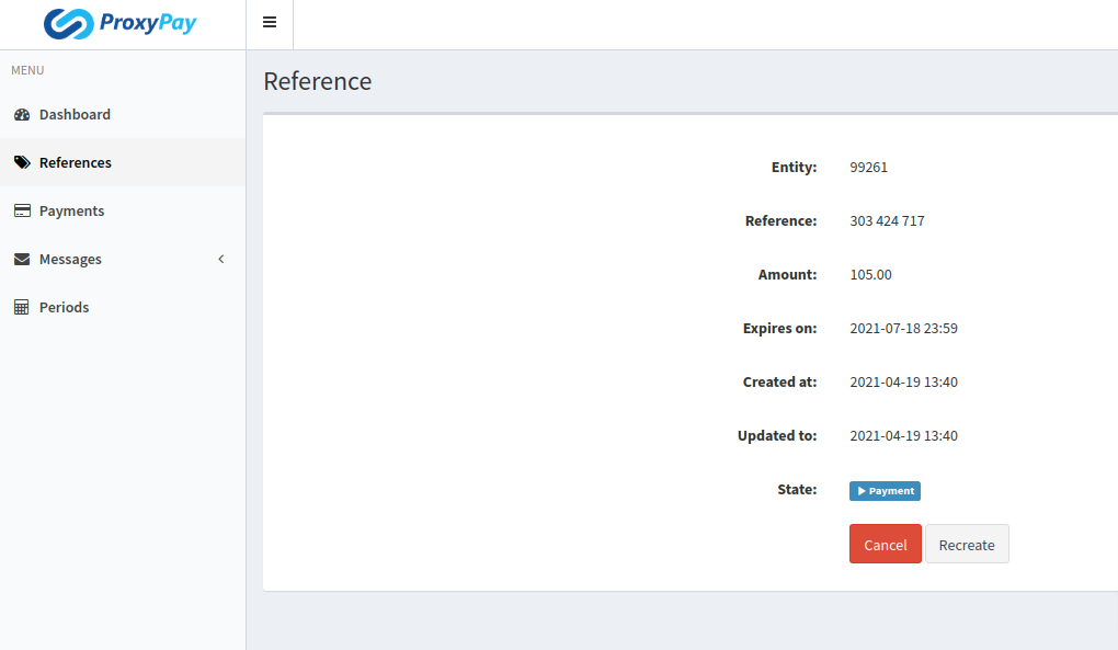 ProxyPay-References