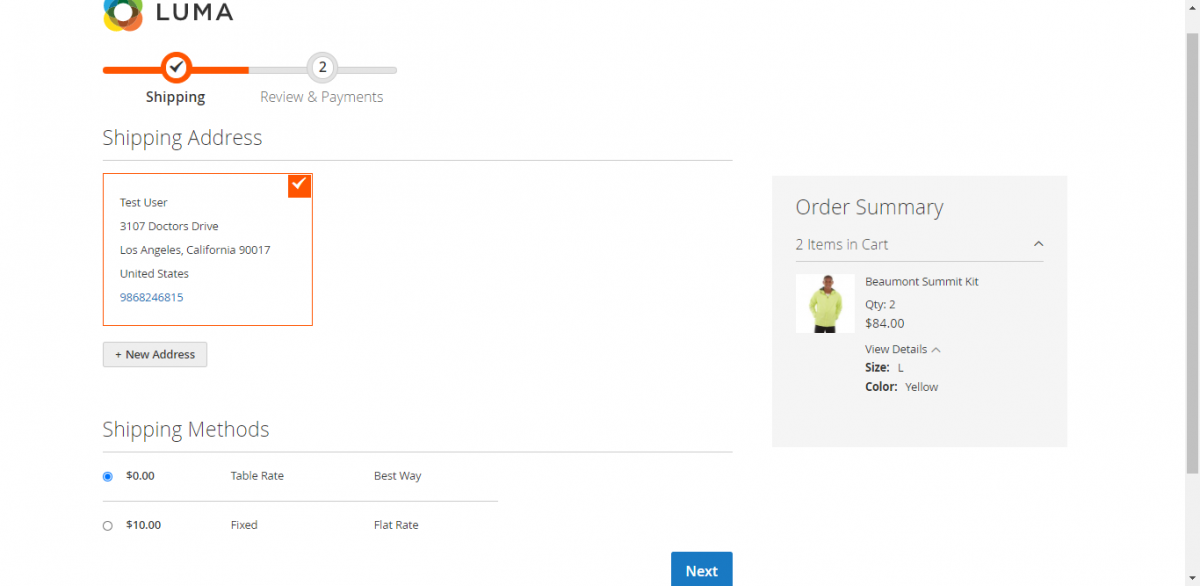 magento 2 buy now plugin checkout page