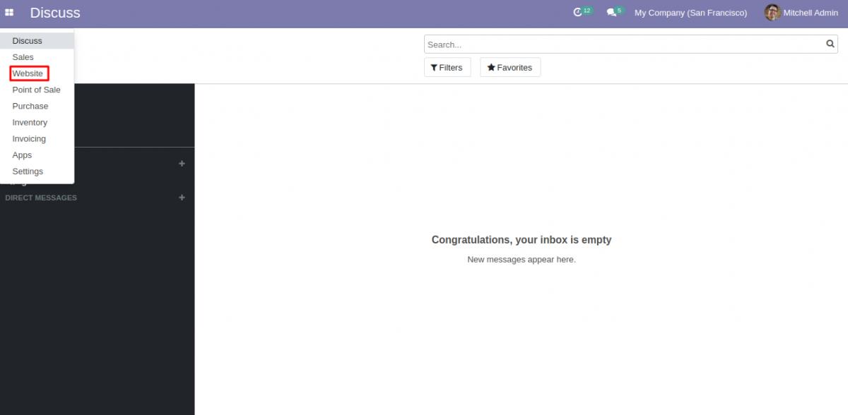 Odoo Website