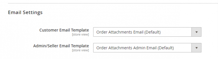 Email Setting Order attachment Magento 2