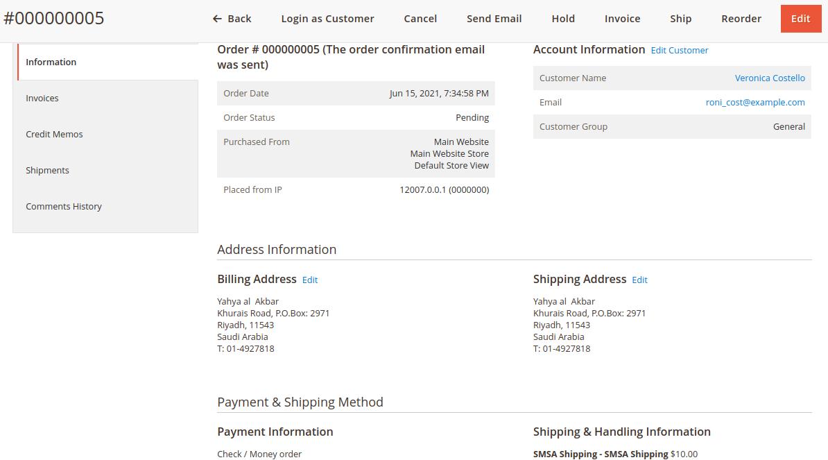 SMSA Shipping for Magento 2 Multi-Vendor-admin-order-management