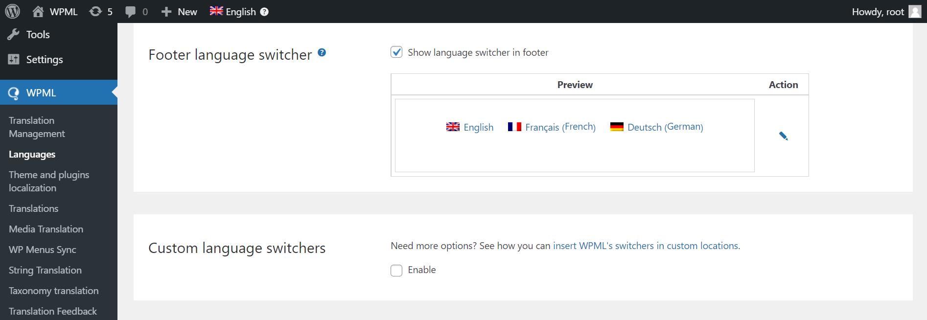 Languages-‹-TESTDEMO-—-WordPress-2