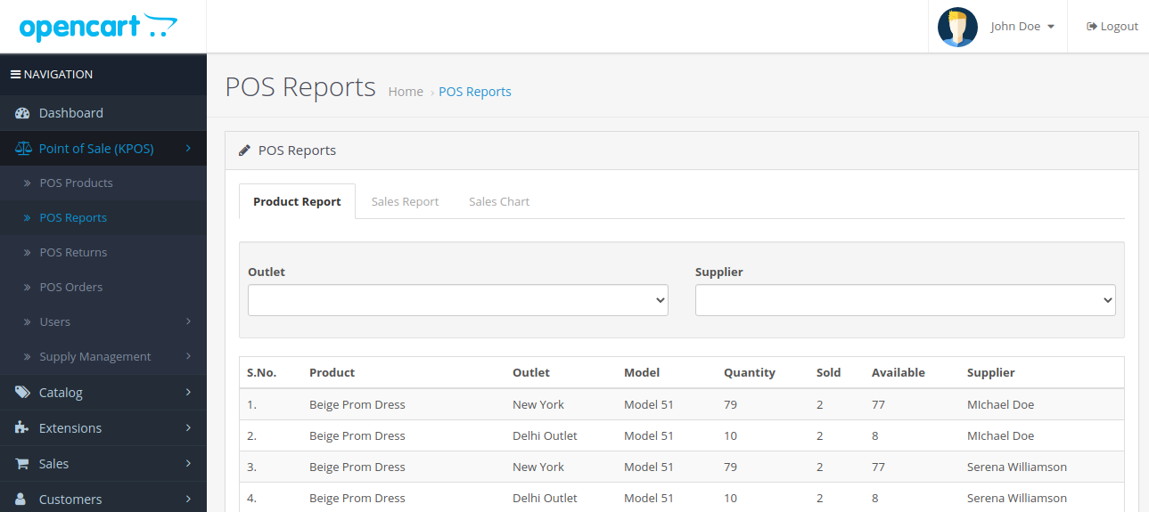 POS-Reports