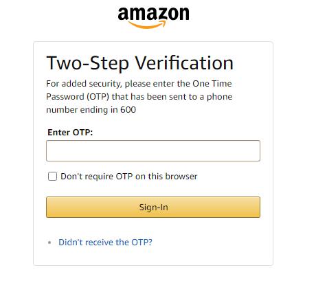 amazon-two-step-verification--amazon clone in magento 2