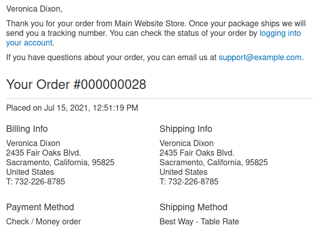 email-for-order