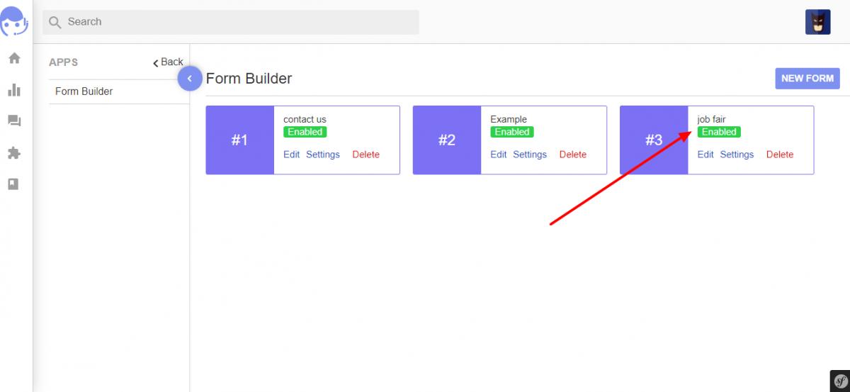 Form Builder UVdesk