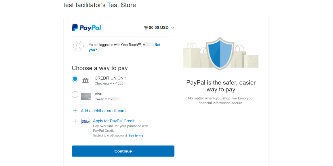 PayPal-Checkout-Choose-a-way-to-pay-Awesome-Screenshot-1