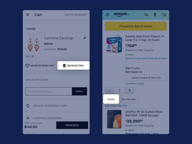 delete-mobile-checkout-experience