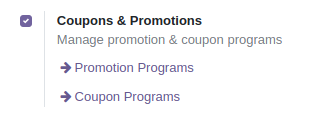 Coupons and offers for Odoo POS version 15
