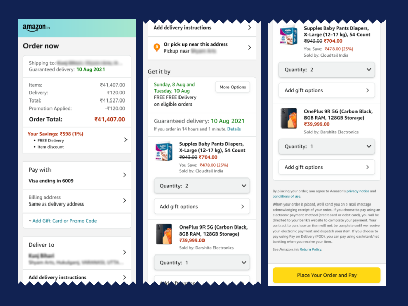ordre-summary-mobile-checkout-experience