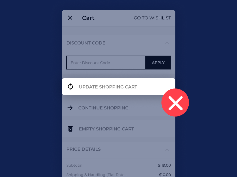 update-cart-mobile-checkout-experience