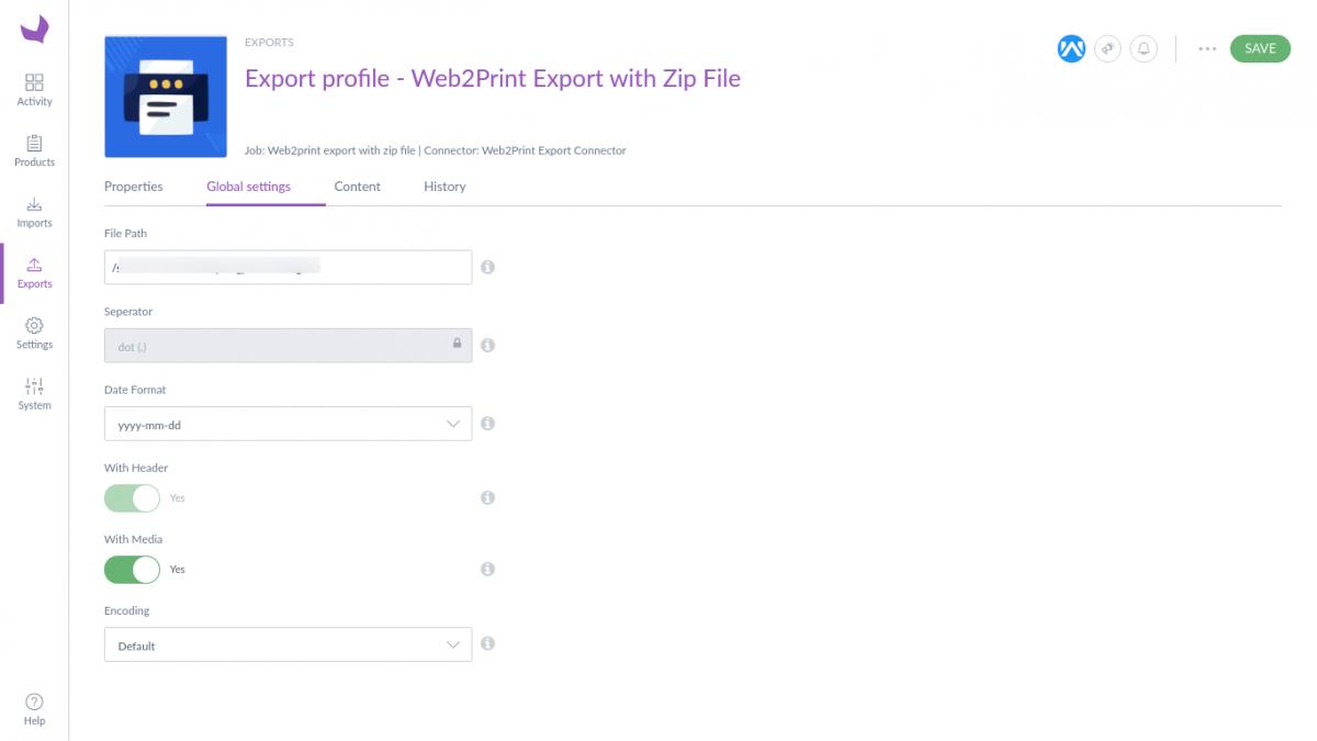 Export-profile-Web2Print-Export-with-Zip-File-Edit