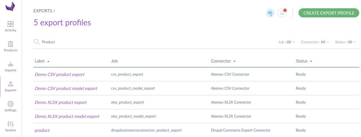 Product-export-search