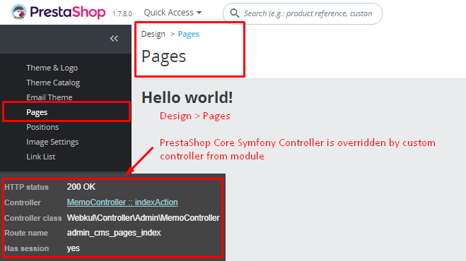 Overriding Existing Symfony Controller