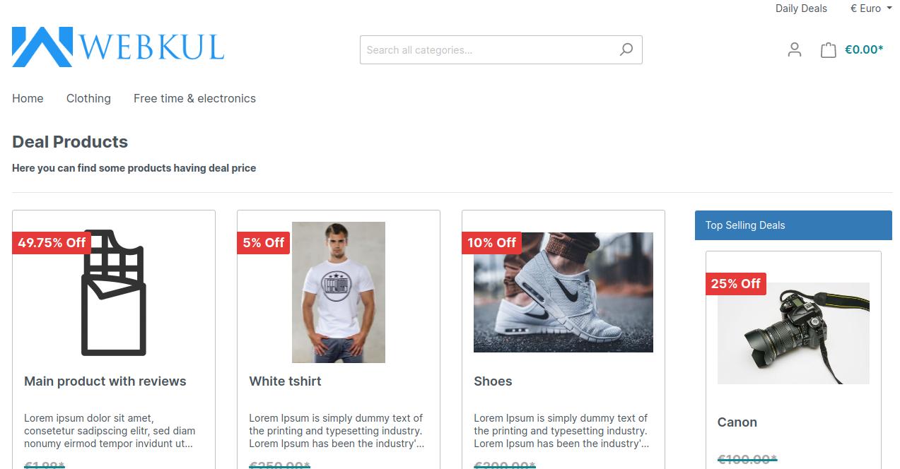 Shopware6-daily-deal-admin-end