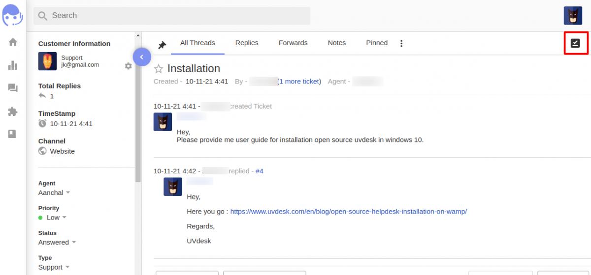 Installation ToDo app